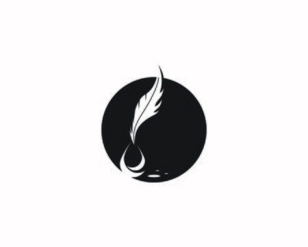 feather pen write icon and symbol vector illustration Ilustrace