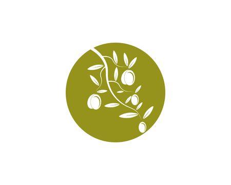 olive icon vector illustration design template