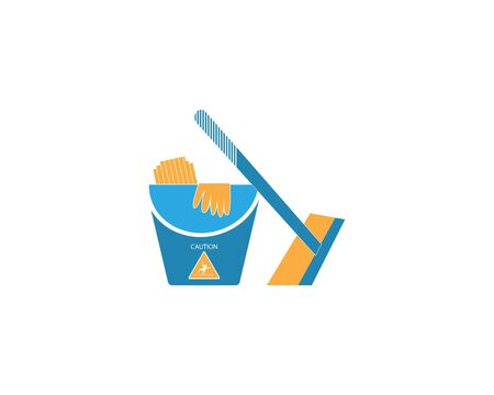 Cleaning service icon and symbol vector illustration Фото со стока - 130085260