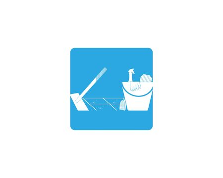 Cleaning service icon and symbol vector illustration Фото со стока - 130085546