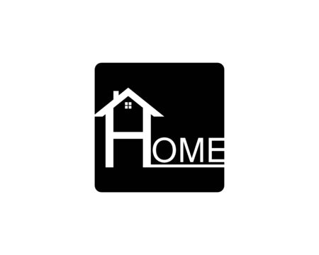 Real Estate , Property and Construction Logo design Ilustracja