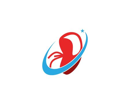 Kidney care icon and symbol vector illustration