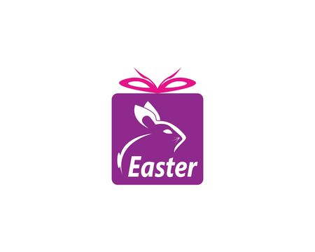 Easter icon and symbol vector template Vettoriali