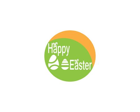Easter egg icon and symbol vector template