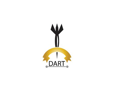 Dart icon and symbol vector template