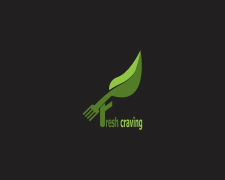 Fresh craving icon and symbol vector template