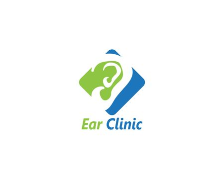Ear icon and symbol logo vector template 写真素材 - 148684143