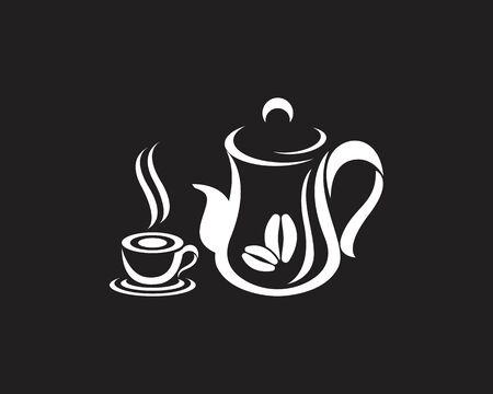 Coffee cup Logo Template vector icon design