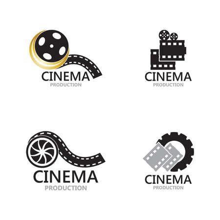 Movie film cinema design template