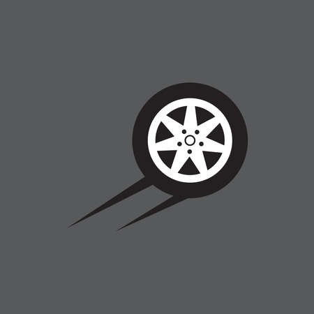 Tires icon and symbol vector template illustration