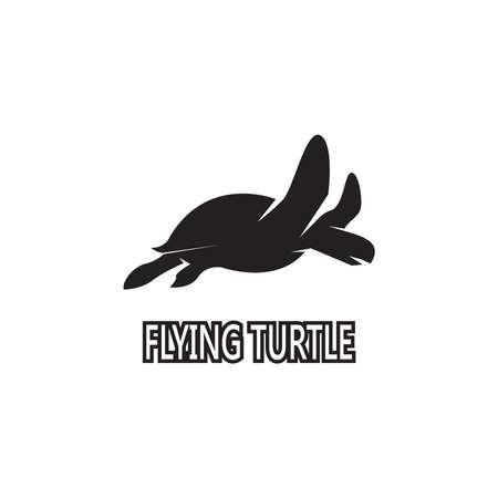 Turtle animal cartoon icon vector illustration Vektoros illusztráció