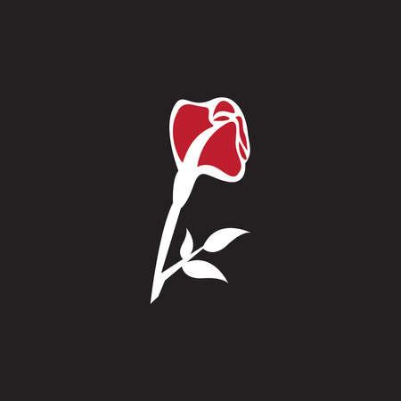 flower vector icon design template illustration