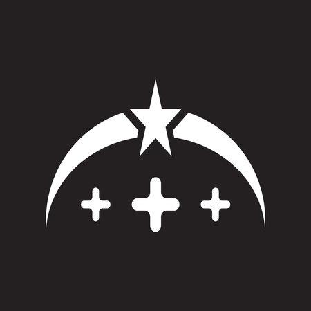 Hospital icon and symbol logo design template Ilustração