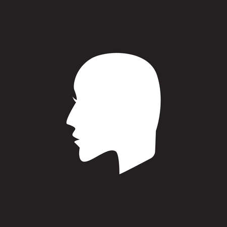 silhouette people logo vector template