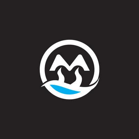 Mountain icon Logo Template Vector illustration design Ilustração