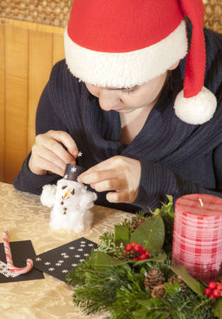cottonwool: Making cotton-wool snowman-selective focus on snowman
