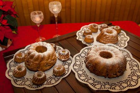 slovenian: Slovenian Potica, Traditional sweet Roll with wallnuts, almonds, rosins…
