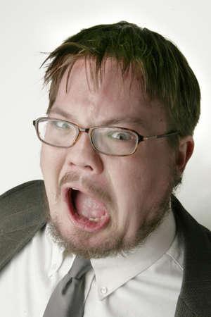 Angry man Imagens - 309917