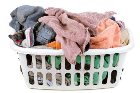 laundry basket Stock Photo - 10759565