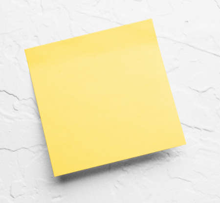 yellow sticky notes Banco de Imagens - 10759629