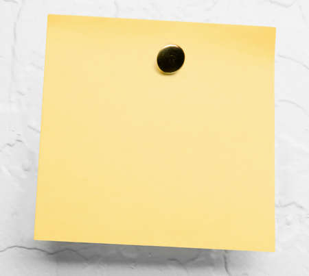 yellow sticky notes photo