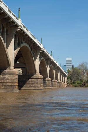 The Gervais Street Bridge in Columbia, SC, USA