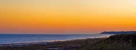 sunset on Hilton Head Island Stok Fotoğraf