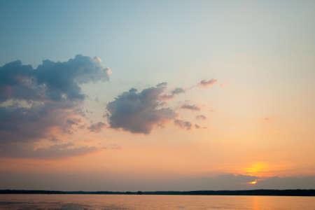 sunset at Lake Murray, SC