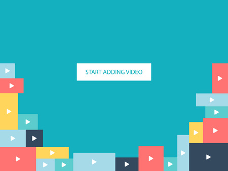adding: Background for website - start adding video