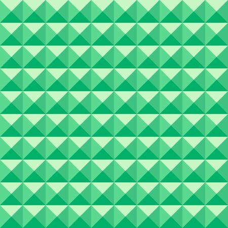 Zielony bez szwu trójkąt deseniu.