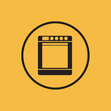 stove: Stove icon illustration. Illustration