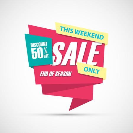50  off: Sale, this weekend special offer , 50% off. End of season.