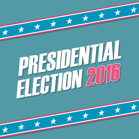 presidential: USA Presidential Election 2016 . illustration.