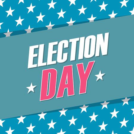 USA Election Day . illustration.