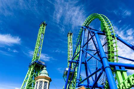 Rollercoaster Imagens - 51433296