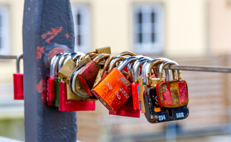 sexual activity: Padlocks symbolize love and solidarity