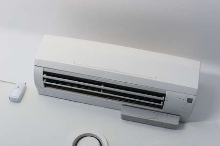 Air condition unit in an office. Stockfoto