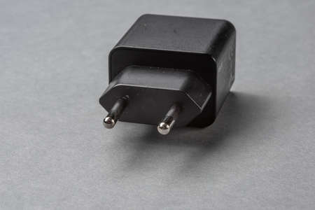 Europlug part of a USB power adaptor.
