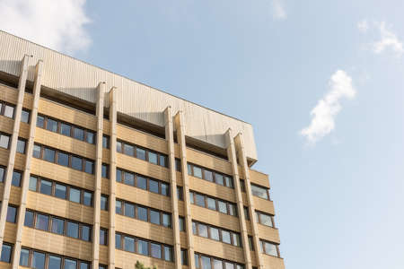 Göteborg, Sweden - October 09 2020: Facade of a tall office building 新闻类图片
