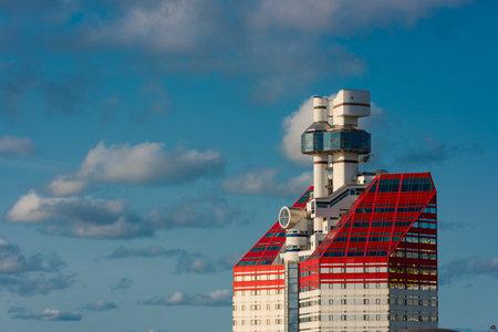 Gothenburg, Sweden - september 10 2020: Top of Läppstiftet by Lilla Bommen