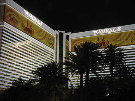 a mirage: The Mirage hotel Editorial