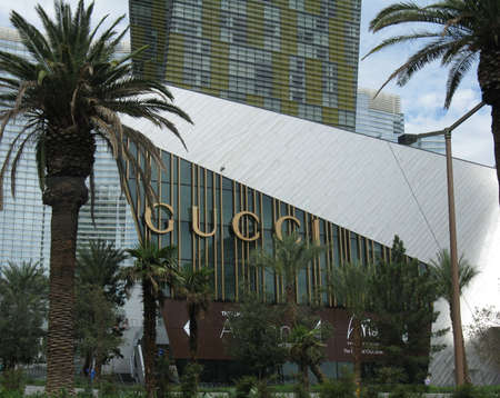 gucci shop: Gucci shop, Las Vegas Editorial