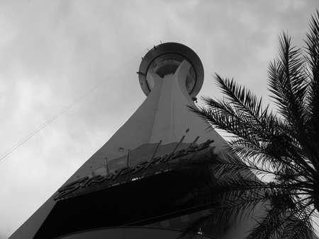 estratosfera: Stratosphere Tower, las vegas Editorial