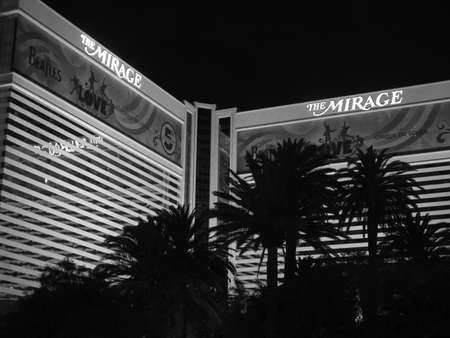 a mirage: The Mirage hotel 2