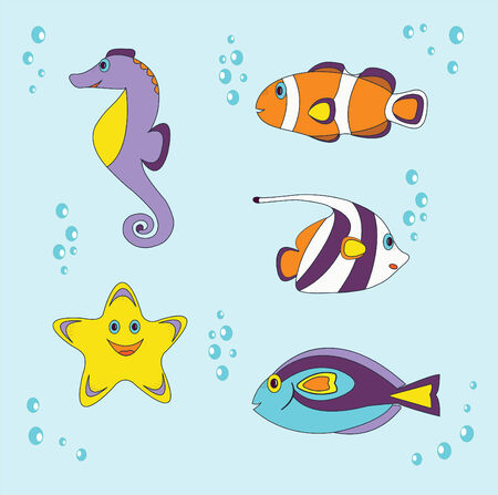 small fishes Stock Vector - 24250010