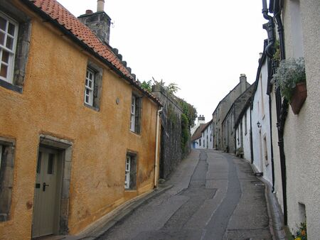 fife: Culross Street, Fife scotland Stock Photo