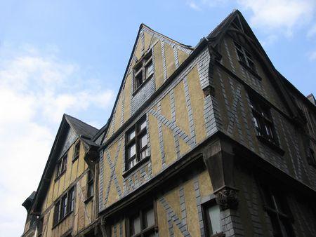 touraine: Old Town, Tours Stock Photo