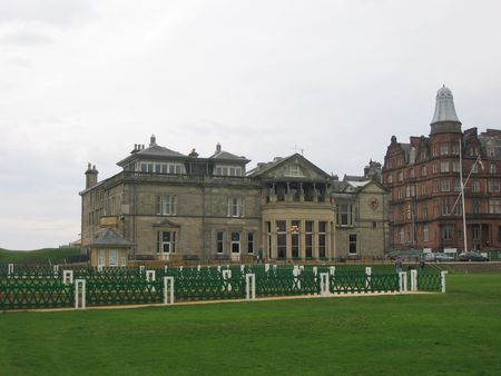 Royal and Ancient Clubhouse, St Andrews, Scotland photo