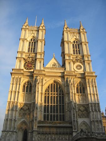 Westminster Abbey at dawn photo