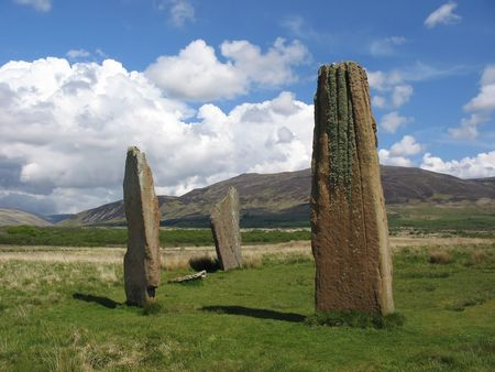 Standing Stones, Arran, Scotland Stock Photo - 343405